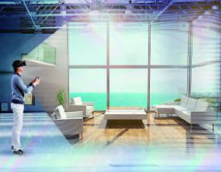 Walk in home VR